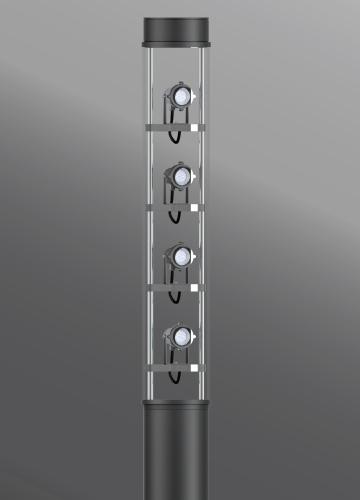 Ligman Lighting's Arizona 3 Large Light Column (model UAR-209XX).