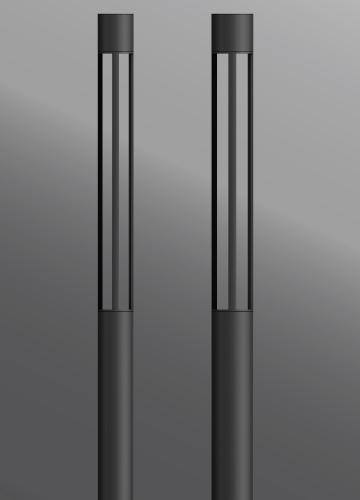 Ligman Lighting's Benton Round Light Column (model UBE-20001).