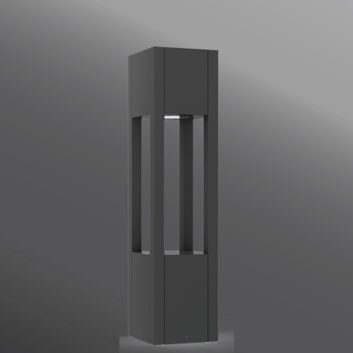 Click to view Ligman Lighting's Vancouver Square Bollard (model UVA-10001).