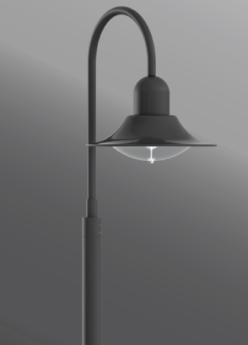 Click to view Ligman Lighting's Atlantic Large Shepherds Crook (model UAA-206XX).