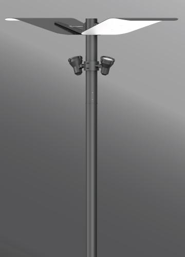 Ligman Lighting's Mic 3 Indirect Light Column (model UMI-21XXX).