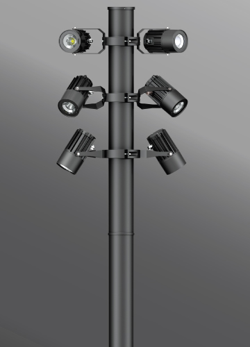 Click to view Ligman Lighting's Odessa Cluster Column (model UOD-21XXX).