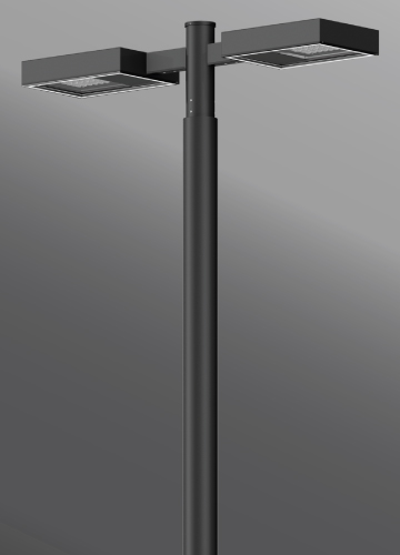 Click to view Ligman Lighting's Mustang Streetlight, IDA: Horizontal non-adjustable (model UMS-9XXXX).