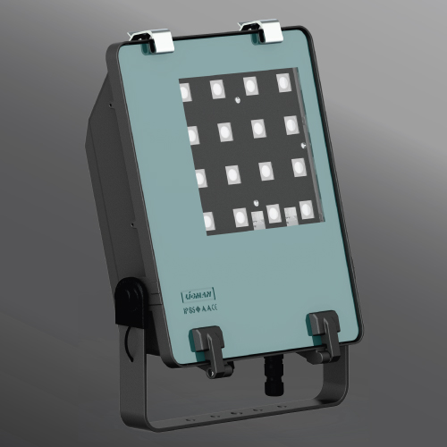 Click to view Ligman Lighting's Gandalf Floodlight (model UGA-5108X, UGA-51011).