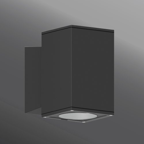 Ligman Lighting's Jet cylindrical and square wall down light LED (model UJE-30XXX).