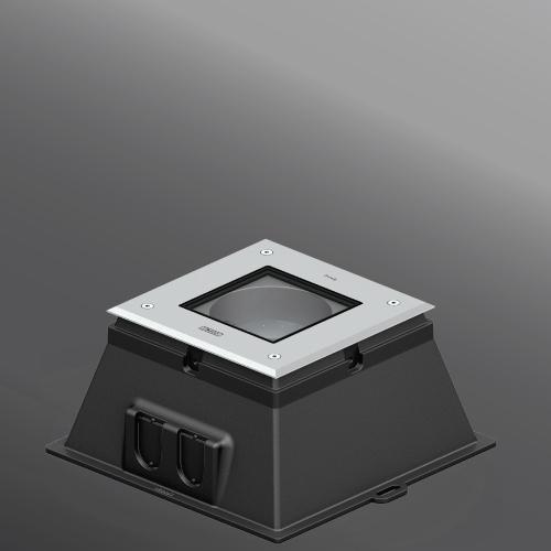"""Ligman Lighting's Kios 1 & 2 Uplight Extended Frame 8.66"""" (model UKI-60XXX)."""