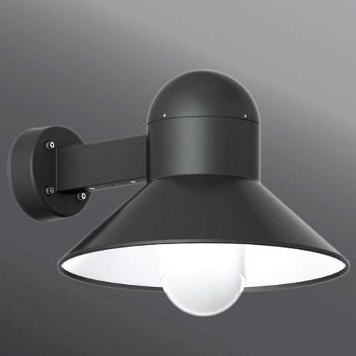 Click to view Ligman Lighting's  Atlantic small and medium shade wall light (model UAA-3XXXX).