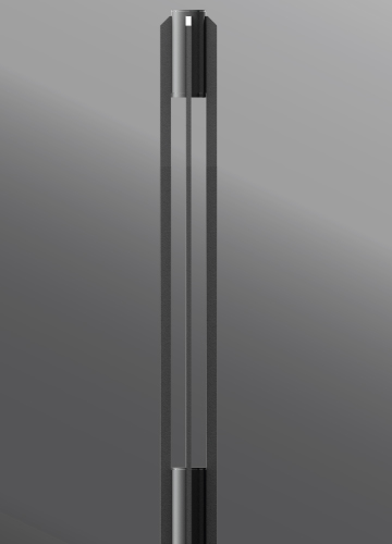Click to view Ligman Lighting's  Ottawa Round Light Column (model UOT-20XXX).