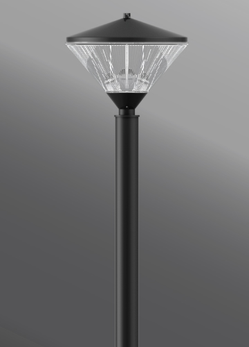 Click to view Ligman Lighting's Qba Post Top (model UQB-20XXX).