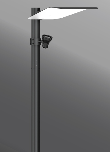 Click to view Ligman Lighting's Mic 3 Indirect Light Column (model UMI-21XXX).