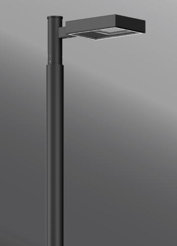 Ligman Lighting's Mustang Streetlight, IDA: Horizontal non-adjustable (model UMS-9XXXX).