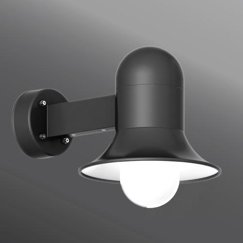 Ligman Lighting's Atlantic small and medium shade wall light (model UAA-3XXXX).