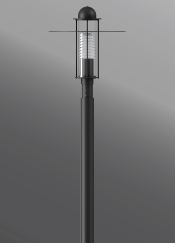 Click to view Ligman Lighting's Space Post Top (model USP-2055X).