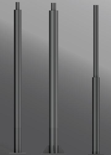 Click to view Ligman Lighting's Galvanized Round Straight Steel Poles (model SPD-RSSXX-XXXX).