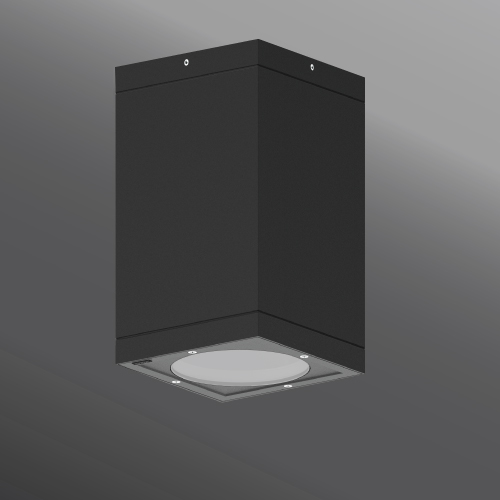 Ligman Lighting's Tango cylindrical and square surface exterior downlight dia. 6.3 (model UTA-80XXX, UTA-804XX, UTA-800XX, UTA-801XX).