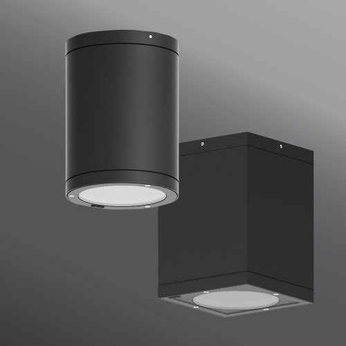 Click to view Ligman Lighting's Tango cylindrical and square surface exterior downlight dia. 6.3 (model UTA-80XXX, UTA-804XX, UTA-800XX, UTA-801XX).