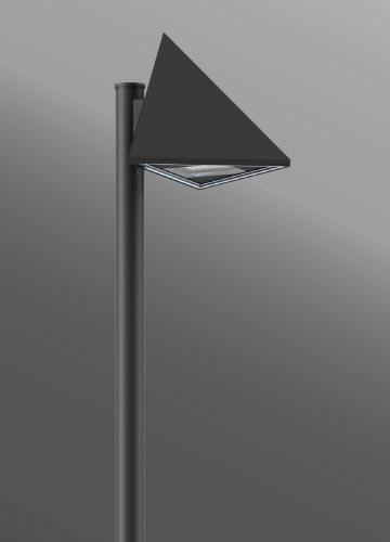 Ligman Lighting's Triangle Streetlight (model UTR-96XXX, UTR-960XX).