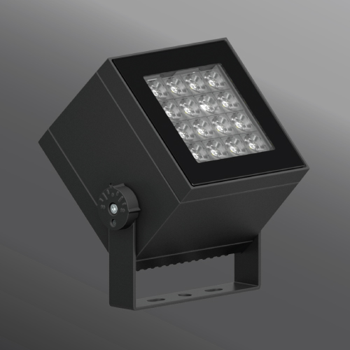 Click to view Ligman Lighting's Lador Floodlight: Yoke Mount (model ULD-500XX).