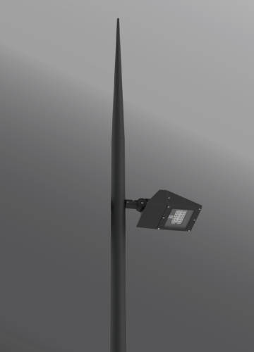 Click to view Ligman Lighting's  Vekter Spike Post Top, IDA: Horizontal non-adjustable (model UVK-200XX).