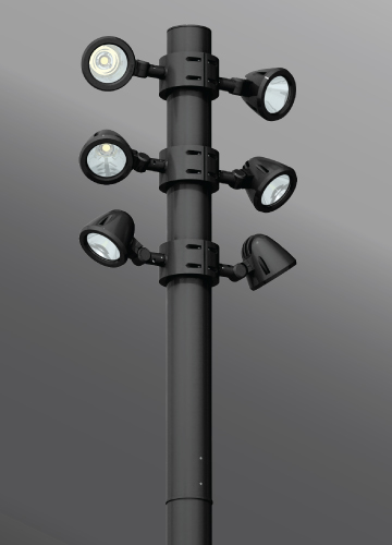 Click to view Ligman Lighting's Zaab Cluster (model UZA-200XX).