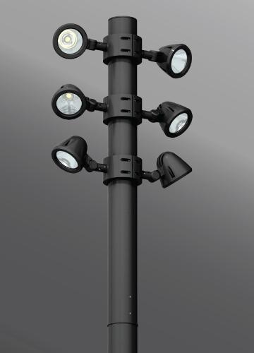 Click to view Ligman Lighting's  Zaab Cluster (model UZA-200XX).