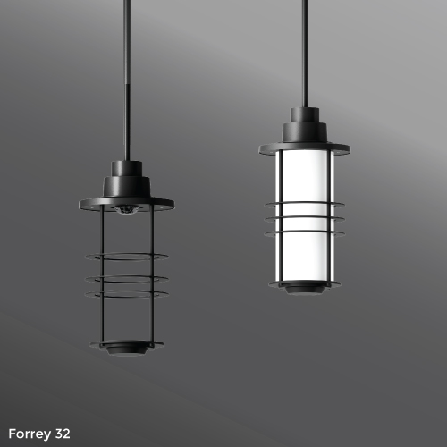Click to view Ligman Lighting's Forrey Pendant (model UFOR-950XX).
