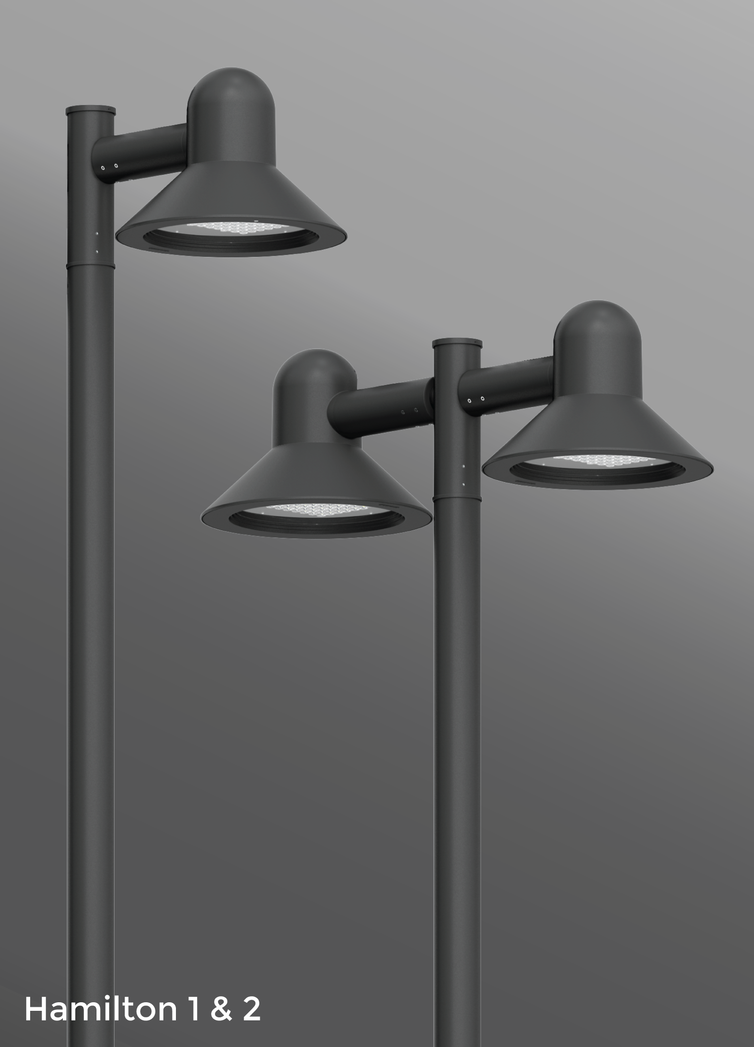 Click to view Ligman Lighting's  Hamilton Post Top (model UHAM-200XX).