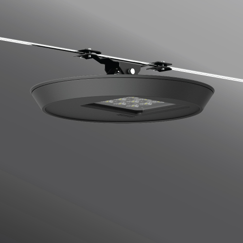 Click to view Ligman Lighting's  Macaron Catenary (model UMC-98001).