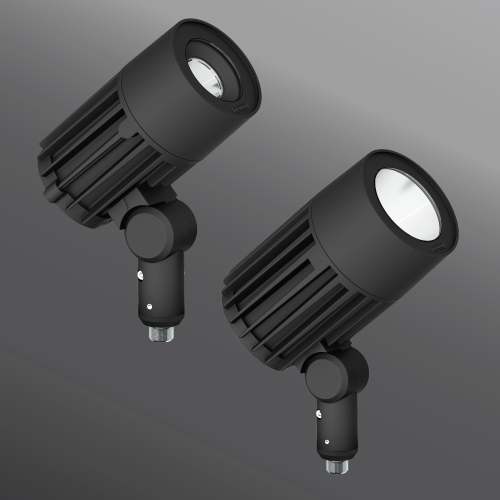 Click to view Ligman Lighting's  Odessa Floodlight: Threaded Knuckle Mount (model UOD-500XX).
