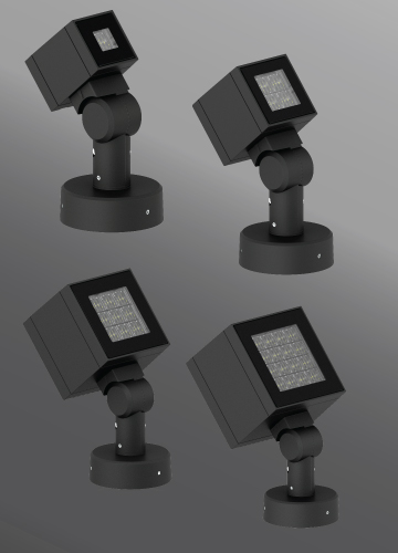 Click to view Ligman Lighting's Lador Floodlight: Pedestal Mount (model ULD-50XXX).