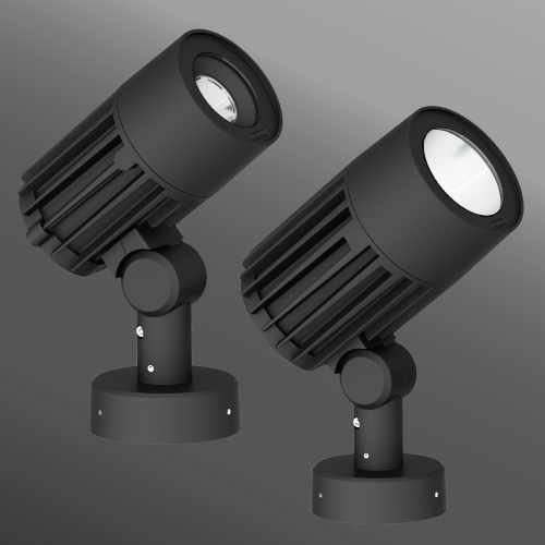 Click to view Ligman Lighting's  Odessa Floodlight: Pedestal Mount (model UOD-500XX).